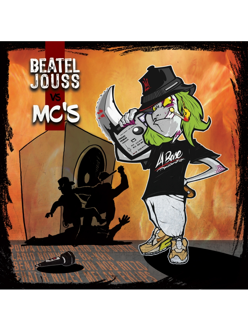 "Album Cd ""La Base Production - Beateljouss vs Mc's"""