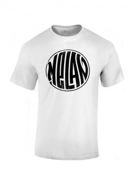 T Shirt Melan Blanc