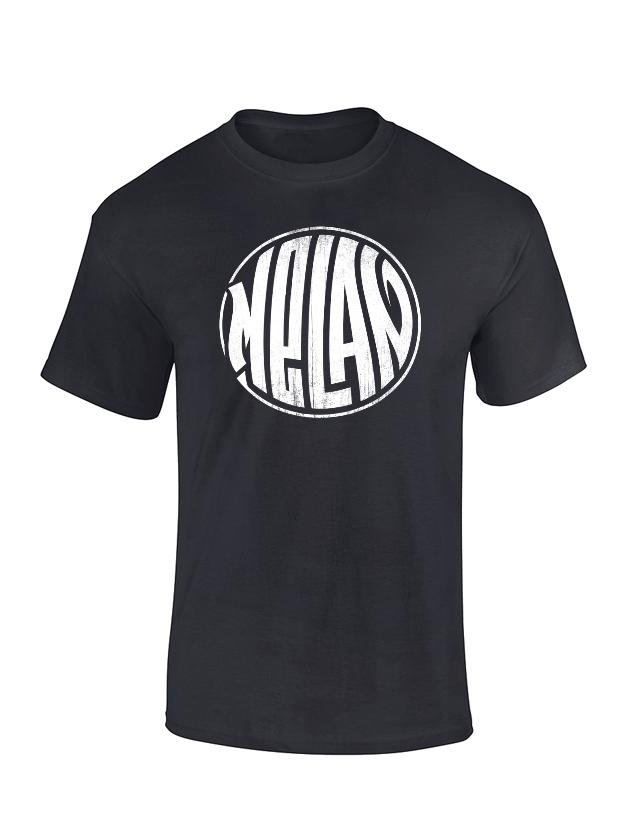 T Shirt Melan Noir