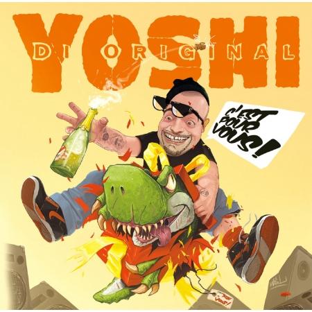 """Album Vinyl """"Yoshi - C'est pour vous"""""""