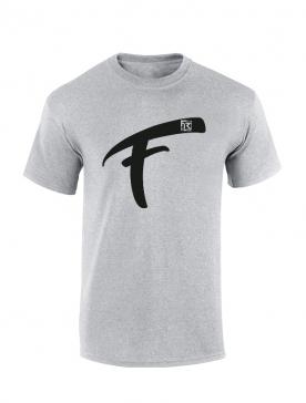 T Shirt Fhat.R gris logo F