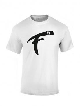T Shirt Fhat.R blanc logo F