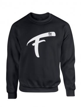 Sweat Fhat.R noir logo F