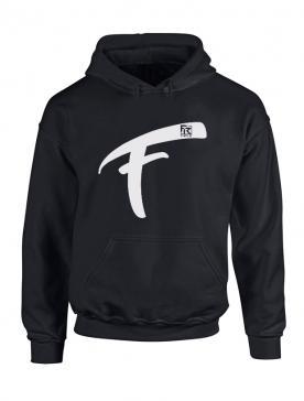 Sweat Capuche Fhat.R noir logo F