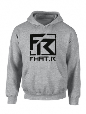 Sweat Capuche Fhat.R gris