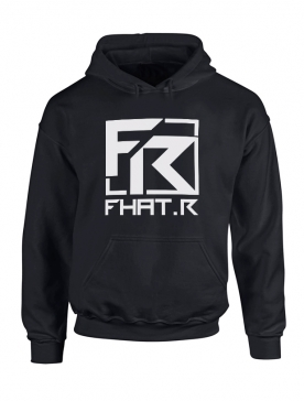 Sweat Capuche Fhat.R Noir