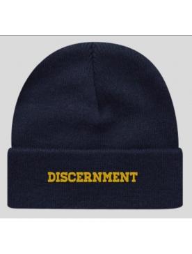 """Bonnet """"Discernment"""" bleu"""