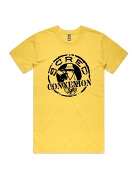 """T-Shirt """"Classico"""" Jaune et noir"""