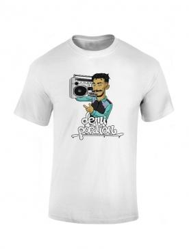 Tshirt Demi Portion 1990 Blanc
