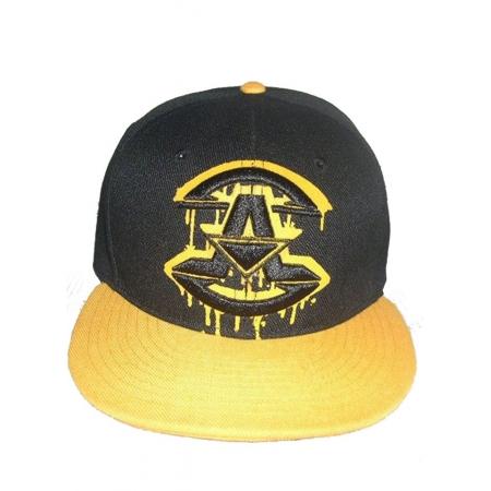 casquette assassin Noir et jaune