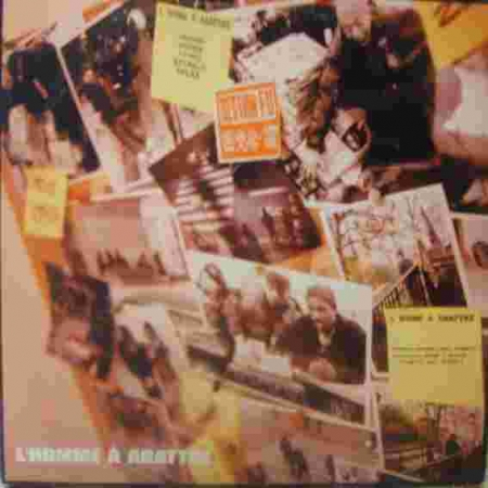 Album Vinyle Section Fu - L'homme à abattre