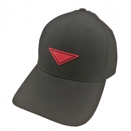 new casquette assassin noir logo rouge