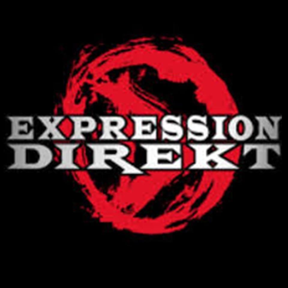 """tee-shirt noir """"Expression Direkt"""""""