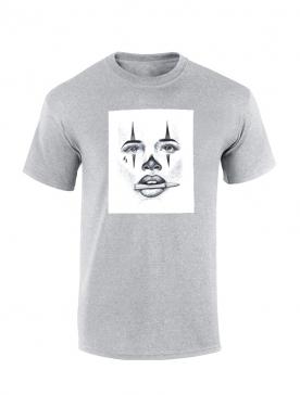 Tshirt Versil Visage gris
