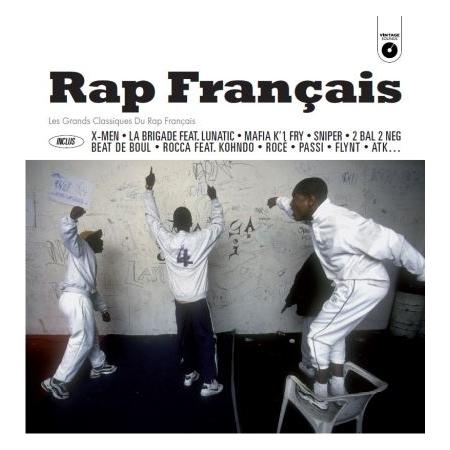 """Album vinyl """"Vintage rap francais"""""""