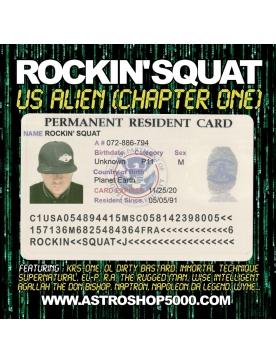 Album vinyl rocking squat - us alien - chapter one