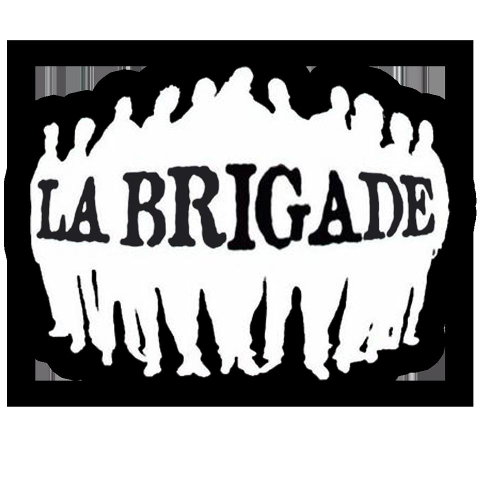 tee-shirt noir la brigade