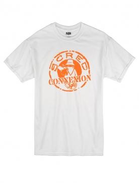 Tshirt Classico Blanc Orange