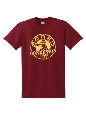Tshirt Classico Bordeaux Jaune