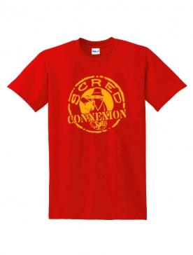 Tshirt Classico Rouge Jaune