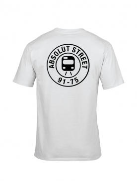 T Shirt Absolut Street Blanc