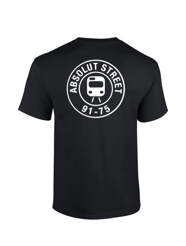 T Shirt Absolut Street Noir
