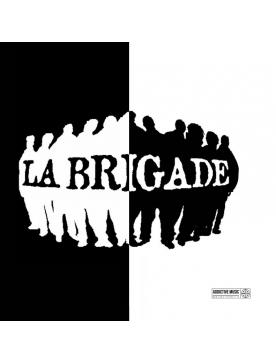 Album vinyl La brigade - Noir et blanc