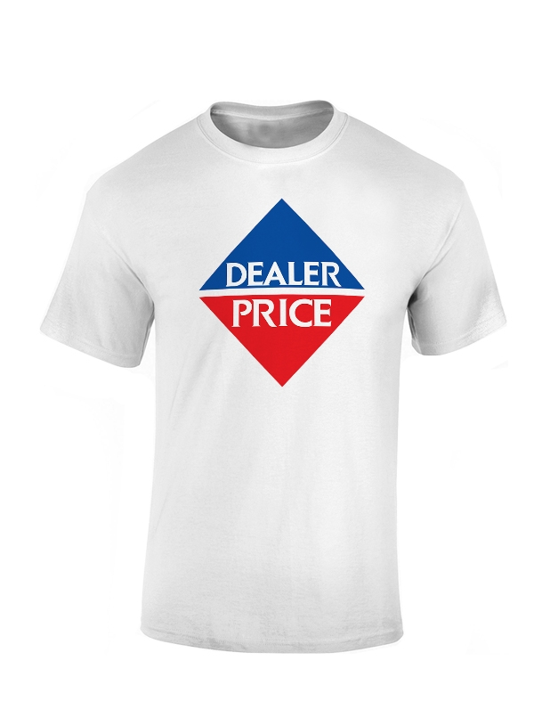 T-Shirt Lakemar Dealer Price Blanc