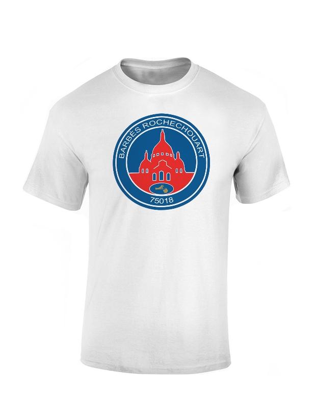 T-Shirt Lakemar Barbès SG Blanc