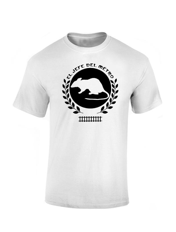 T-Shirt Lakemar El Jefe Blanc