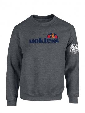 Sweat foncé Mokless gris