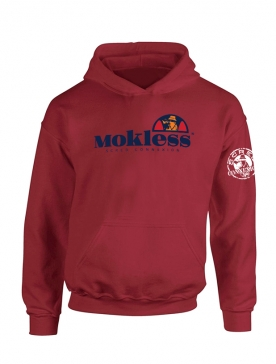 Sweat Capuche Bordeaux Mokless