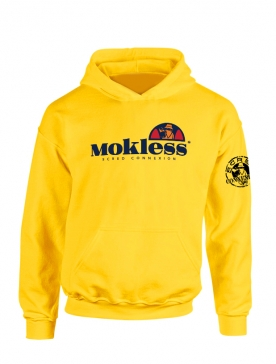 Sweat Capuche Jaune Mokless