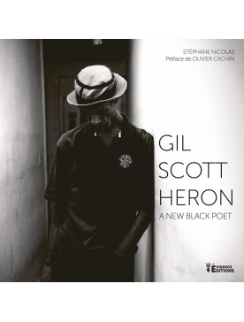 "Livre ""Gil Scott Heron-A-new-black-poet"""