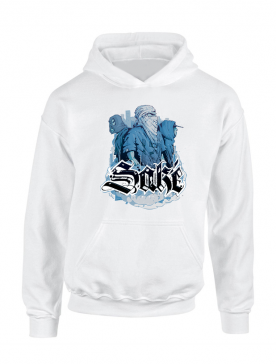 Sweat Capuche Sake 4 Blanc