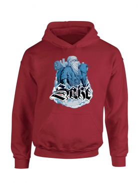Sweat Capuche Sake 4 Bordeaux