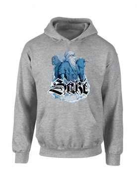 Sweat Capuche Sake 4 Gris