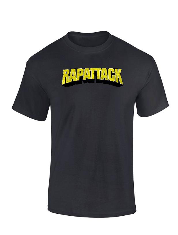 T Shirt Chimiste - Rapattak Noir