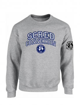 Sweat Scred University gris