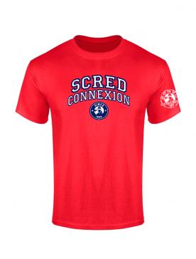 Tshirt Scred University Rouge