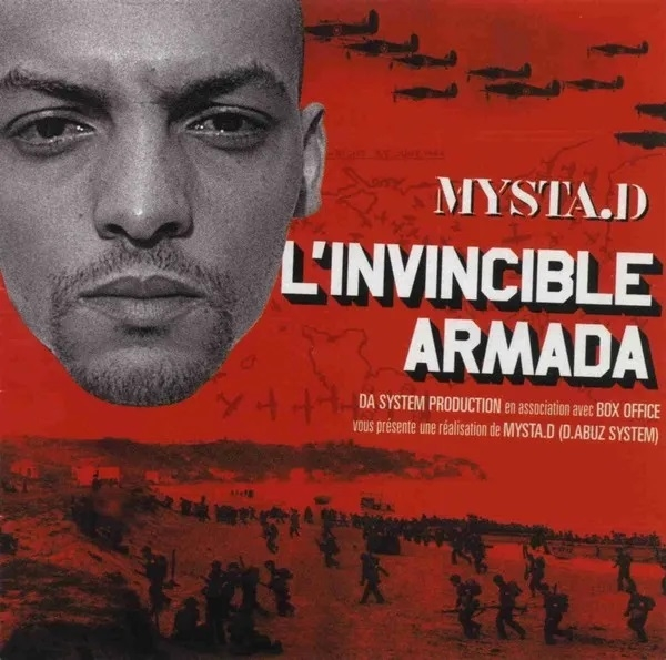 "Album Cd ""Mysta.D - L'invincible Armada"""