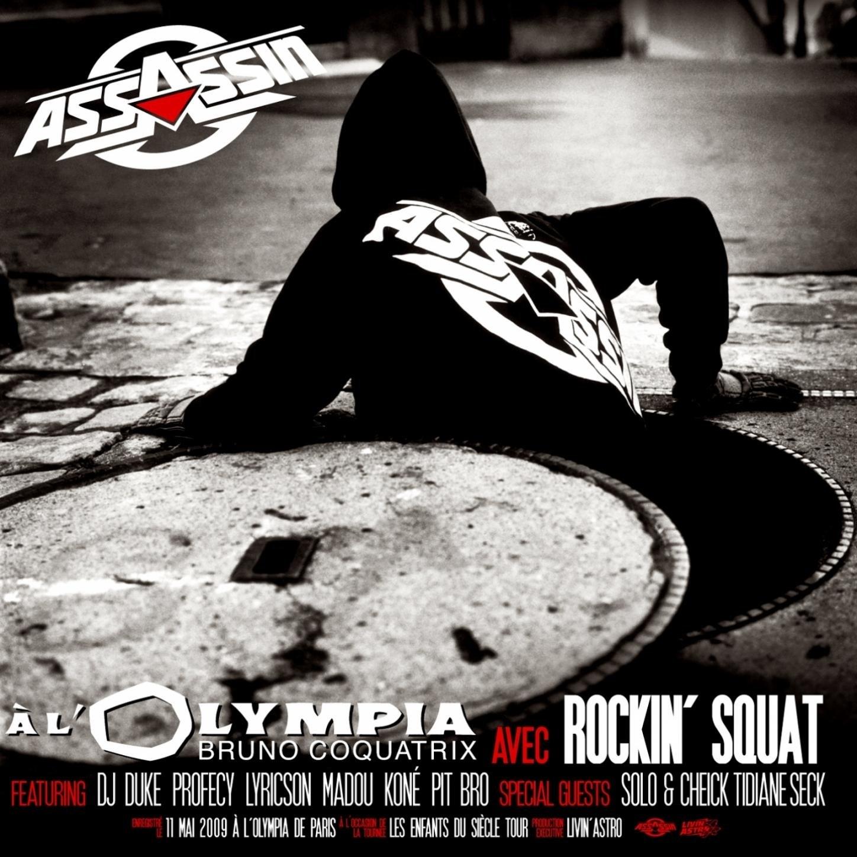 "Album Cd ""Assassin / Rockin Squat - Olympia 2009"""