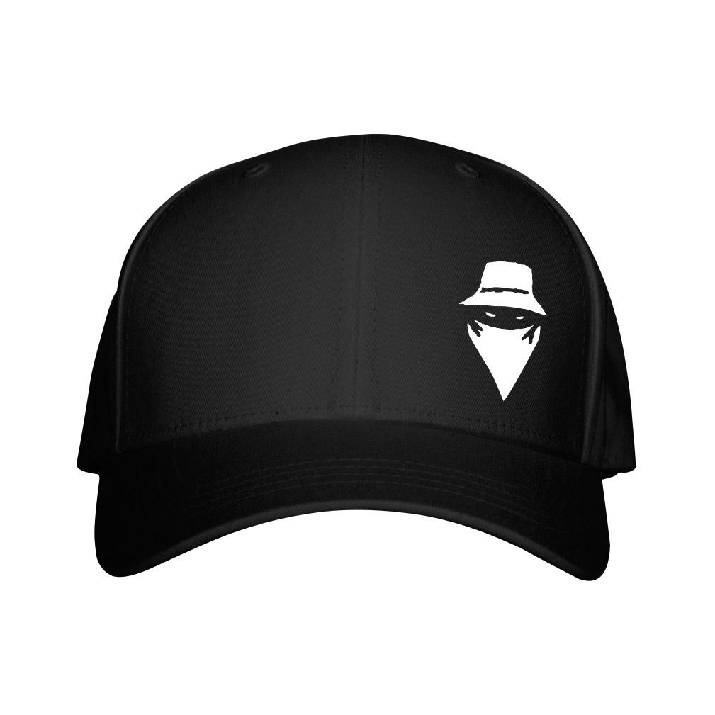 Casquette Noire Visage