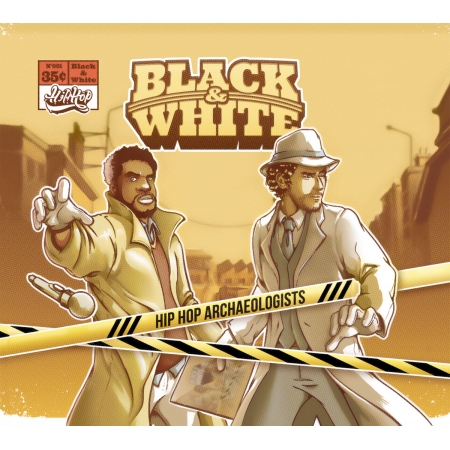 "Album Cd Black&White ""Hip Hop Archaeologists"""