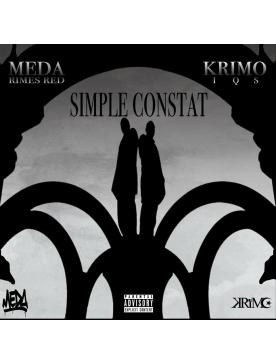 """Album Cd """"Meda & Krimo - Simple Constat"""""""