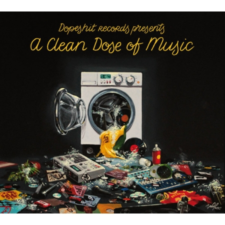 "Album Cd ""A Clean Dose of Music"""