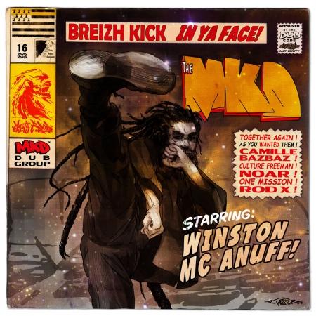 """Album Cd """" MKD - Breizh kick """""""