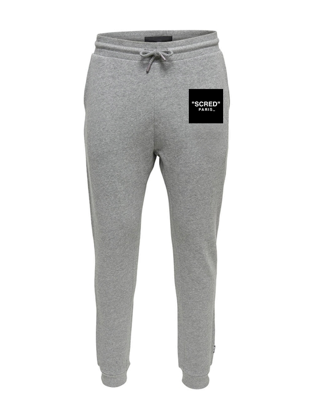 Pantalon de Jogging Gris Carré Scred