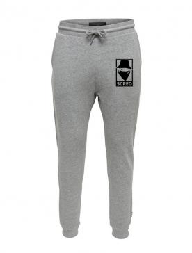 Pantalon de Jogging Gris Visage Box