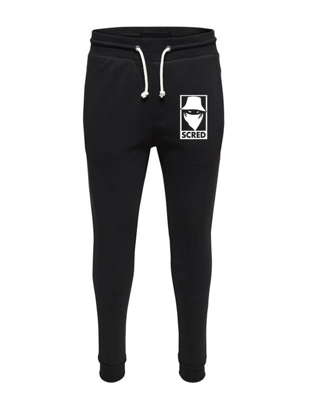 Pantalon de Jogging Noir Visage Box